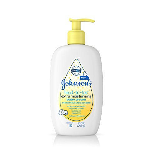 Johnson's Head-to-Toe Extra Moisturizing Baby Cream, 27 Oz -  Johnson & Johnson - Ketotifen, HGNLV