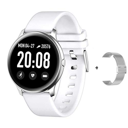 BFL KW19 Smart Watch Women IP67 IP67 Impermeable Monitor De Ritmo Cardíaco Mensaje Mensaje RECORDATORIO Fitness Rastreador Smartwatch PK T4 DT88,C