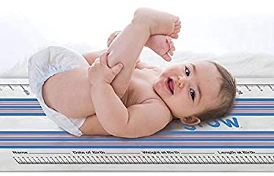 See Me Grow Portable Diaper Changing Pad/Cushioned Lightweight Waterproof Mat/Wipeable Machine Washable/Smart Travel Station for Baby Boys and Girls