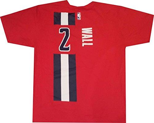 adidas Washington Wizards John Wall Alternate Net Print T Shirt (XL)