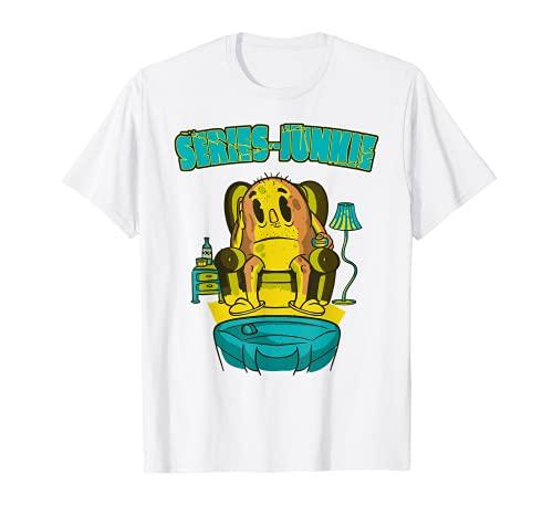 TV-Streaming Movie Series-Junkie Video Internet TV-Streamer T-Shirt