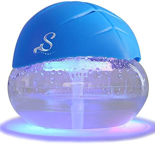 Sirena - Mini Purificatore d'Aria / Aromatizzatore per ambienti Sirenita con luci LED per cromoterapia