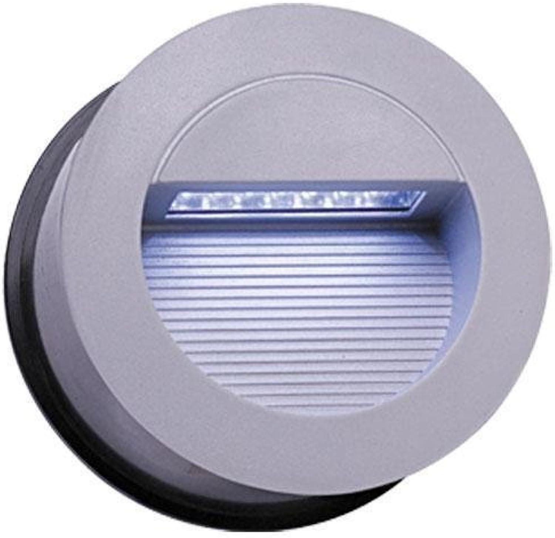 Knightsbridge nh017W Rund LED Einbauleuchte Outdoor Wandleuchte