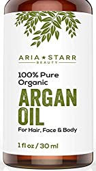 Image of a bottle of argan oil, which can do wonders for a greasy scalp