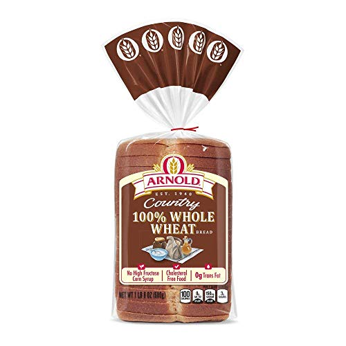 Arnold, Country Classic Wheat Bread, 24 oz - 2 Loaves