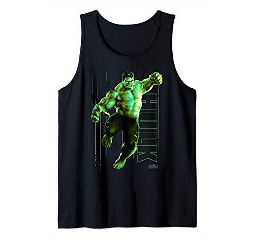 Marvel Infinity War Incredible Hulk Jump Smash Tank Top