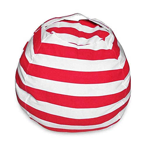 JACKWS Interesante Herramientas for niños Juguetes, Animal Relleno Bean Bag Saco de Almacenamiento de Gran tamaño de Lona de algodón for niños de Juguete de Felpa Solución Organizador (velero)