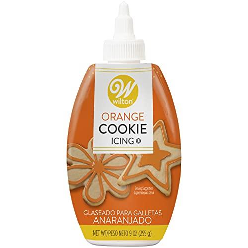 Wilton Orange Cookie Icing, 9-Ounce