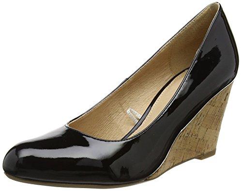 Lotus 50760, Zapatos de Cuña Mujer, Negro (Black...
