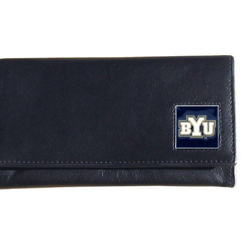 NCAA Siskiyou Sports Womens BYU Cougars Leather Women's Wallet One Size Black