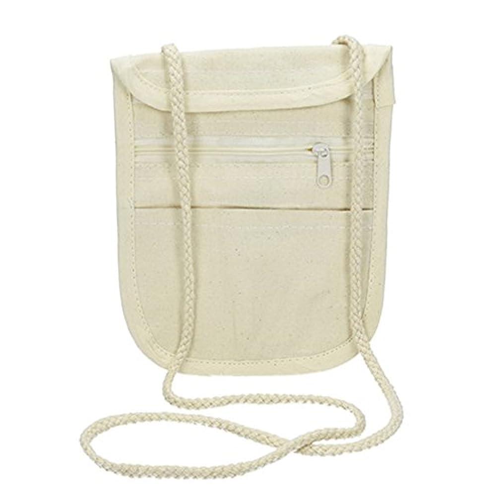 Efco Goods Purse with Hanger 17 x 14 cm Cotton 280g/m2 Natural, 17 x 14 x 2 cm dvkqui44535