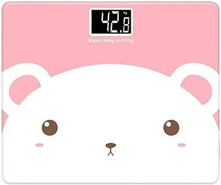 UYZ Báscula de Peso del Cuerpo Humano Báscula de baño de Peso Inteligente Báscula de Peso Inteligente Bluetooth Báscula Digital Inteligente en Red Duradera (Color: 02)