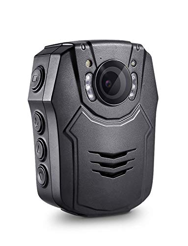 Boblov HD 1296P Körper Kamera 64GB Polizei Körper Getragen Video Kamera Sicherheit IR Nachtsicht Cam 32MP Video (PD50 64GB)
