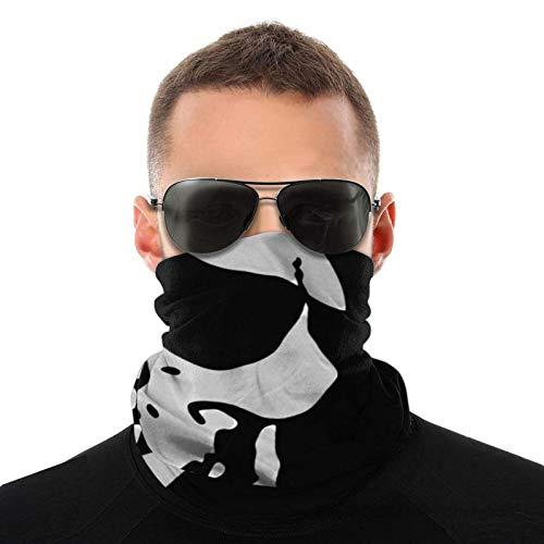 Lawenp Skull Unisex Reutilizable Ajustable Sombreros al aire libre para hombres Mujeres Pañuelo facial Pañuelo Polvo multifuncional Casual 3d Impreso Cuello polaina Calentador Bandanas Balaclava