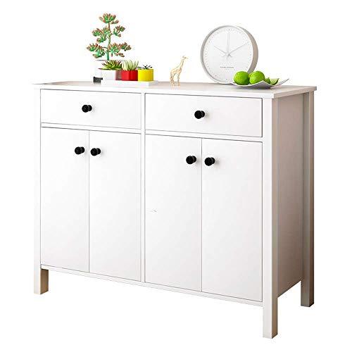 CENPEN Zapatero moderno minimalista, pequeño vestíbulo de apartamento, ahorro de espacio, color blanco, fácil de montar (color: blanco, tamaño: 119 x 32,5 x 91,1 cm)