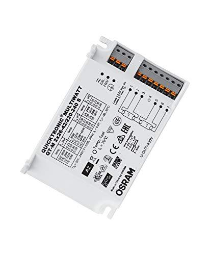 OSRAM elektronisches Vorschaltgerät (EVG), QUICKTRONIC MULTIWATT, EVG LL/KLL non-DIM, QT-M 2X26-42/220-240 S