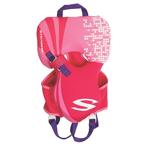 STEARNS Puddle Jumper Infant Hydroprene Life Jacket, Pink