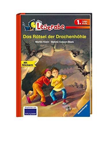 Das Rätsel der Drachenhöhle - Leserabe 1. Klasse - Erstlesebuch für Kinder ab 6 Jahren (Leserabe - 1. Lesestufe)
