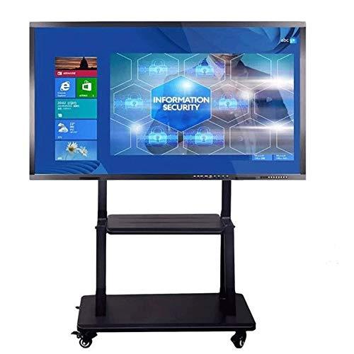 Universal Mobile TV Stand Met Planken TV kar op wielen for 55