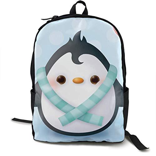 Penguin Travel Computer Bag Mochila para computadora portátil Unisex, School College Se Adapta a 15 '' Laptop BAG-520
