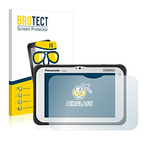 BROTECT Panzerglas Schutzfolie kompatibel mit Panasonic Toughpad FZ-B2 - AirGlass, 9H Festigkeit, Anti-Fingerprint, HD-Clear