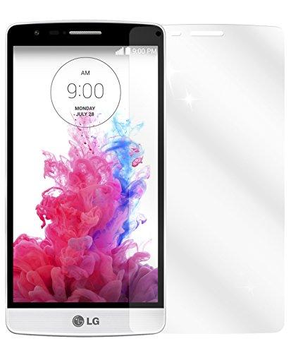 dipos I 2X Schutzfolie klar kompatibel mit LG G3 S Folie Bildschirmschutzfolie