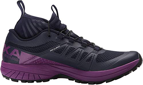 Salomon XA Enduro W, Zapatillas de Running para Mujer, Azul (Evening Blue/Grape Juice/Black), 39 1/3 EU