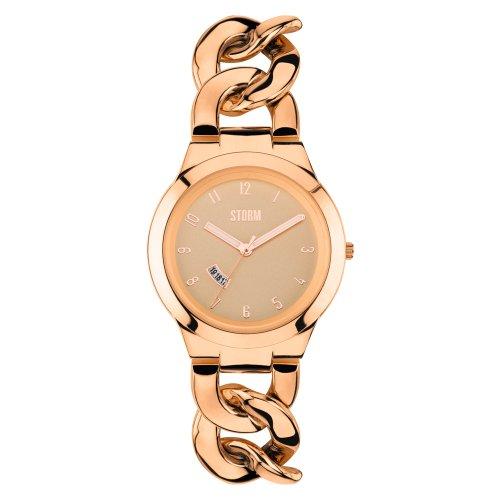 Storm - 47215/RG - Reloj para Mujeres, Correa de Acero Inoxidable Color Oro Rosa