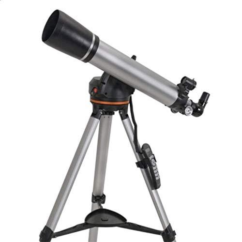 Auoeer La Lente óptica del telescopio, astronómica Profesional de la Estrella Refracción 90MM HD Totalmente Recubierto, Búsqueda automática portátil trípode