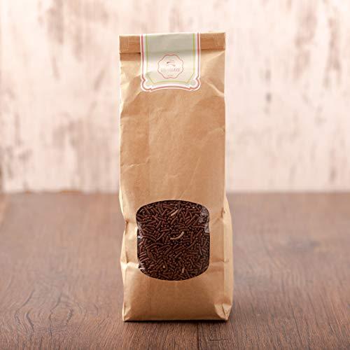 süssundclever.de® Bio Schokostreusel | 500 g | Premium Qualität | plastikfrei abgepackt in ökologisch-nachhaltiger Bio-Verpackung