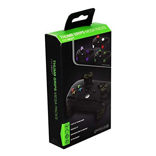Gioteck - TGMP XB1 - Thumb Grips Megapack para Xbox One, Protección para Joysticks, Antideslizante, Precisión Grips para Xbox One (Paquete de 4) (Xbox One)
