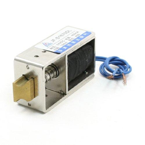 Aexit DC12V 400mA 10mm Hub 40N Kraft Offener Aktuator Türschloss Solenoid (c6206fd35dca0b297efde044e843e292)