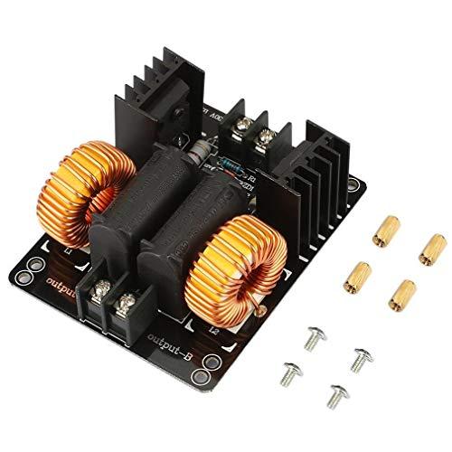 HehiFRlark Flyback - Calentador de conductor, módulo de bobina de calefacción de inducción de baja tensión de 1000 W, 20 A, ZVS