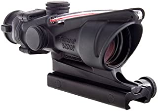 Trijicon TA31-D-100288 ACOG 4x32mm Dual Illuminatedx 40mm, Red Chevron M193 Reticle with TA51 Mount, Black