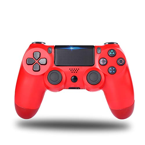 Railay Wireless Gamepad for Ps-4/Pro/Slim Control Joystick for PStation 4 (Red)