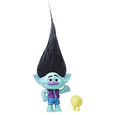 Trolls DreamWorks Branch Collectible Figure with Critter, Color May Vary
