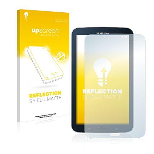upscreen Entspiegelungs-Schutzfolie kompatibel mit Samsung Galaxy Tab 3 (7.0) WiFi SM-T210 – Anti-Reflex Displayschutz-Folie Matt