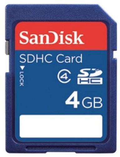 SanDisk SDHCカード 4GB SDSDB-4096-J95A