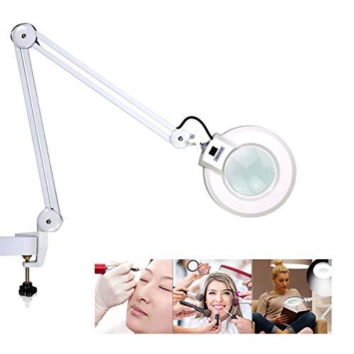 LED-vergrootlamp, verlicht vergrootglas met heldere LED, vergrootlicht voor bureautafelambacht of werkbank, 3,5X dioptrie, voor bureautafeltaakambacht of werkbank