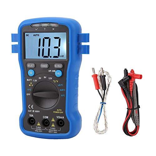 Busirsiz Probador de metro de la temperatura multímetro digital LCD AC DC Corriente Tensión/Herramientas industriales