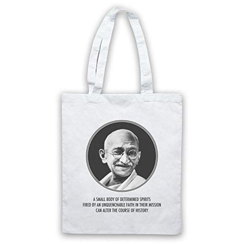 Gandhi Mahatma Tote Bag, White