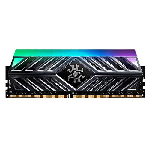 ADATA RAM-3253 Memoria UDIMM DDR4 8GB PC4-25600 3200Mhz Cl16 1.35V Xpg Spectrix D41 RGB Titanio con…