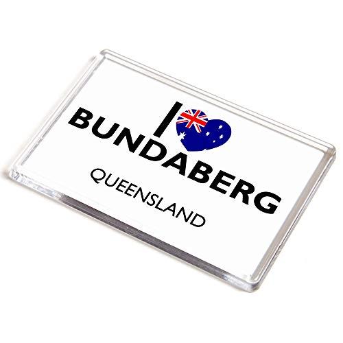 Unbekannt Jumbo-Magnet – I Love Bundaberg – Queensland – Australien