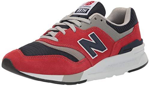 New Balance 997h, Zapatillas Hombre, Rojo (Red/Navy Hbj), 40 EU