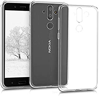 Nokia 8 Sirocco TPU Silicone Clear Case Back Cover By Muzz