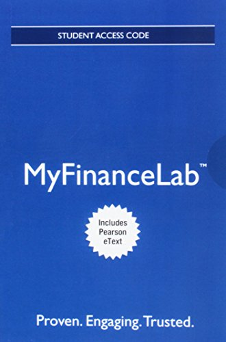 MyLab Finance with Pearson eText -- Access Card -- for Corporate Finance: The Core (My Finance Lab)