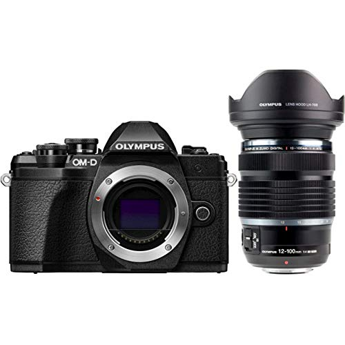 Olympus OM-D E-M10 Mark III MILC 16,1 MP Live MOS 4/3 inch zwart, zilver - digitale camera (16,1 MP, 4/3 inch, Live MOS, 4K Ultra HD, touchscreen, zwart, zilver)