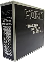 Ford 2000, 3000, 4000, 5000, 7000 Tractor Service Manual