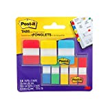 Post-it 7100194200 Flags and Tabs Value Combo, Assorted, Pack of 136