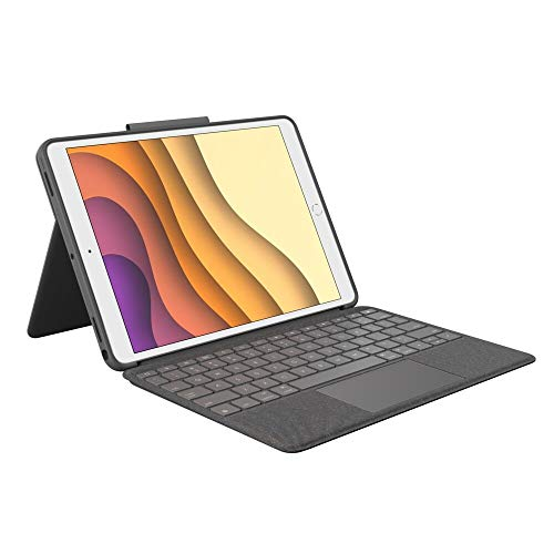 Logitech Combo Touch for iPad Air 3rd generation and iPad Pro 26,67cm 10,5Zoll GRAPHITE DEU mobile device keyboard Combo Touch for iPad Air 3rd generation and iPad Pro 26,67cm 10,5Zoll